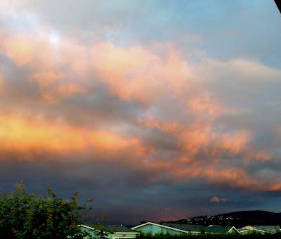 Sky overlooking Bell Hill - N.VanBlaricom