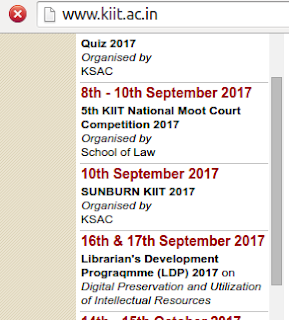 Sunburn KIIT 2017 ,KIIT FEST 2018