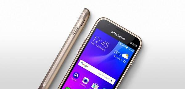 Galaxy J1 Mini é dual chip e roda Android Lollipop