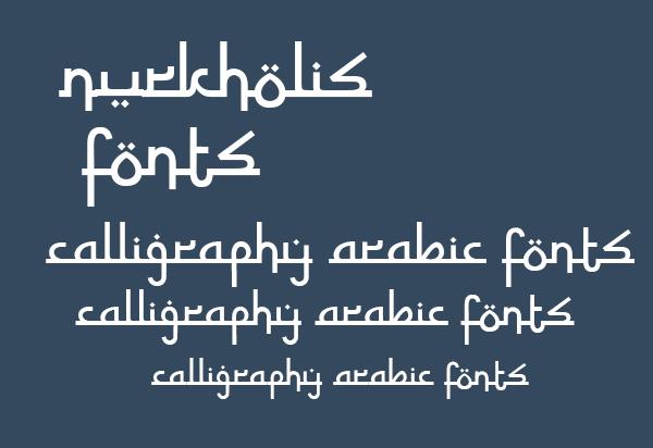 Zein Alsharaf Calligraphy Font Free Download