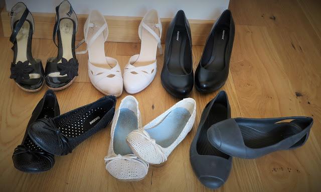 Damskie buty XXL - baleriny i obcasy