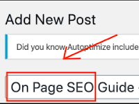 SEO: The ULTIMATE Checklist For Perfectly Optimized ONpage in 2020