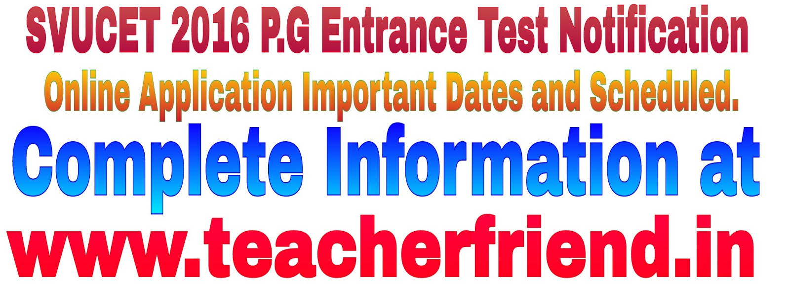 apply important dates