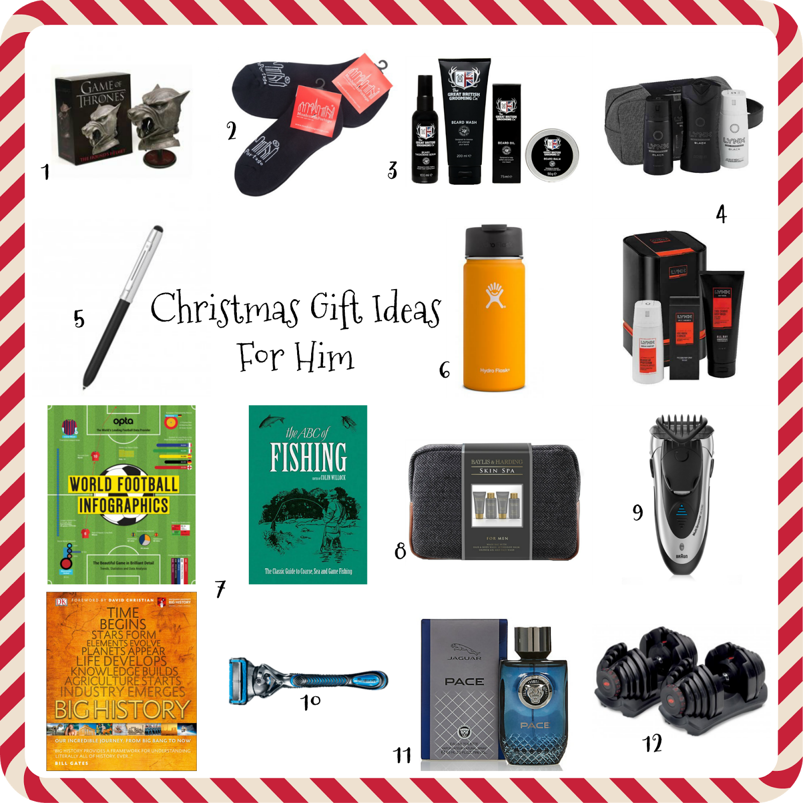 Christmas Gift Ideas For Him My Three And Me