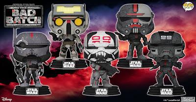 Star Wars: The Bad Batch Pop! Vinyl Figures by Funko