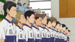 ハイキュー!! アニメ 2期12話 扇南高校メンバー | HAIKYU!!  Ohgiminami high vs Karasuno