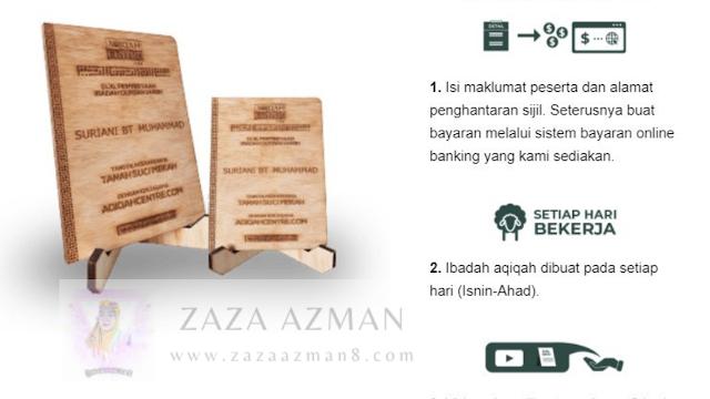Pakej Aqiqah & Qurban di Mekah- murah dan berbaloi