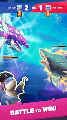 تحميل لعبة hungry shark مهكرة
