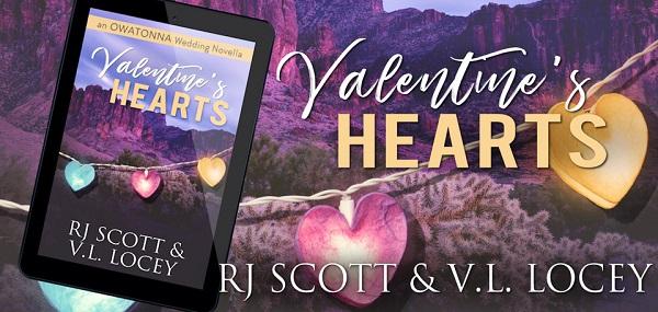 Valentine's Hearts by RJ Scott & V.L. Locey.