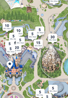 Low Disneyland Wait Times Early September 2019
