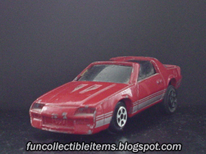 Pontiac Firebird Red | Toy Car