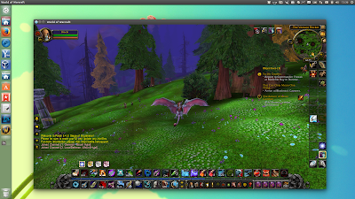 World of Warcraft Ubuntu screenshot