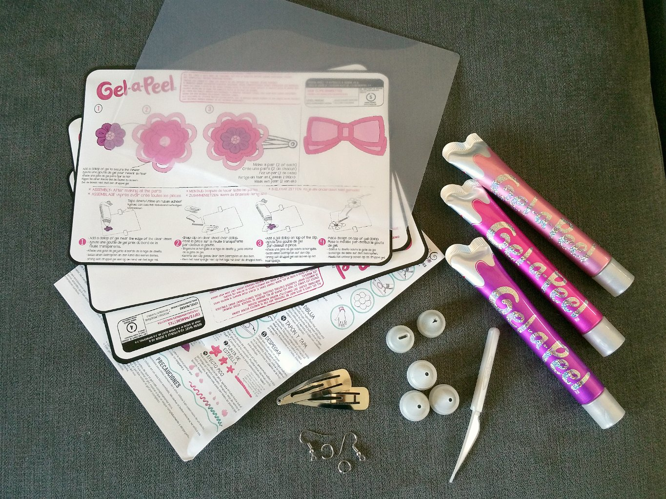 Gel-a-Peel silicone gel jewellery making kit, Christmas Crafts Ideas, Make your own Christmas decorations