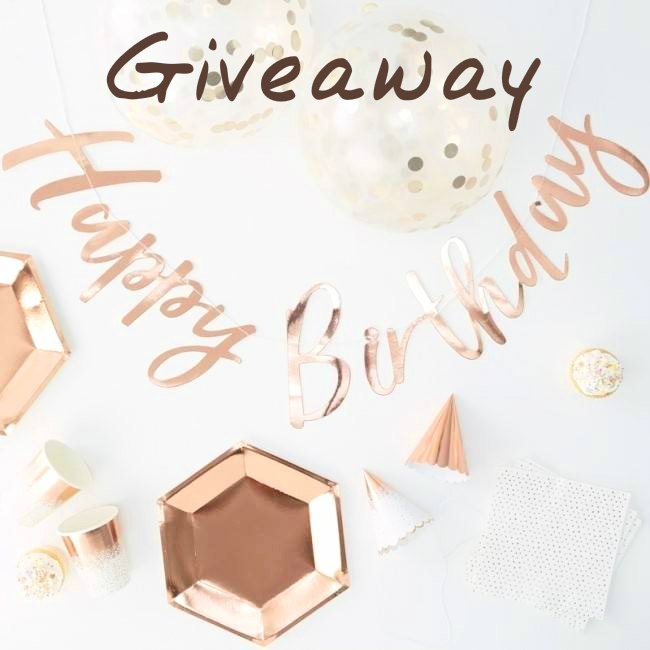 70 Piece Rose Gold Party In A Box From Candle & Cake