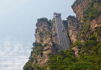 Elevator Paling Ekstrim di Dunia, Salah Satunya Ada di China