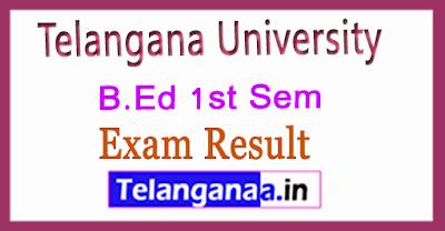 Telangana University B.Ed 1st Sem 2019 Revaluation Results