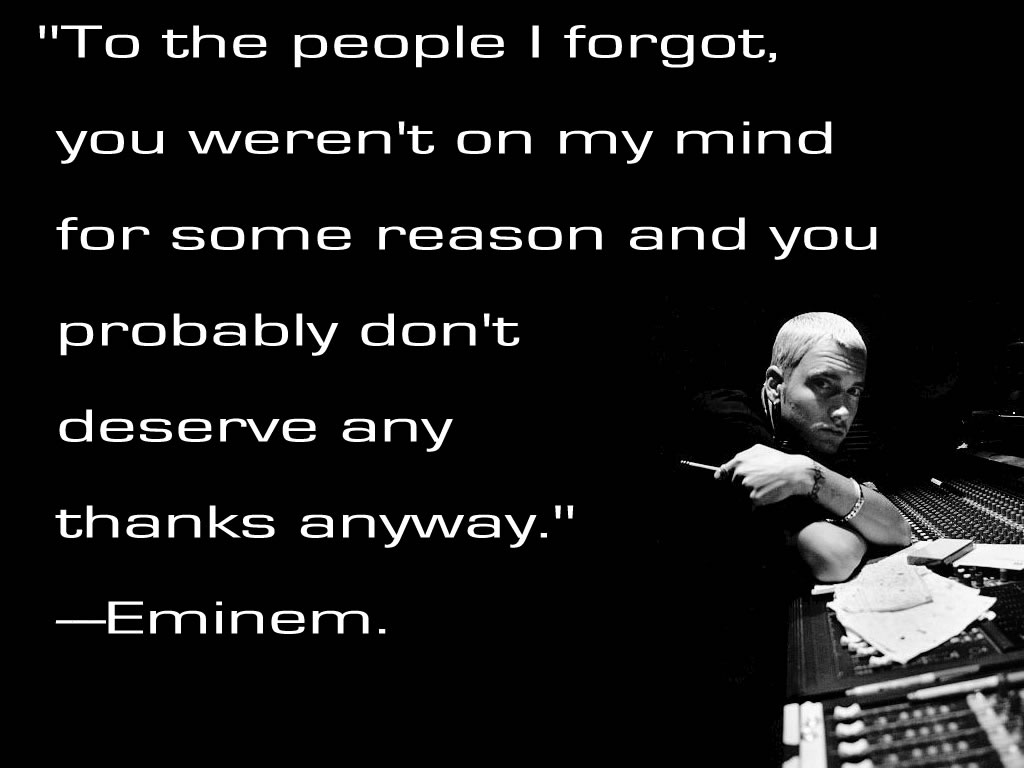eminem quotes from songs about life - photo #8