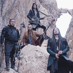 Photo des membres du groupe The Hu