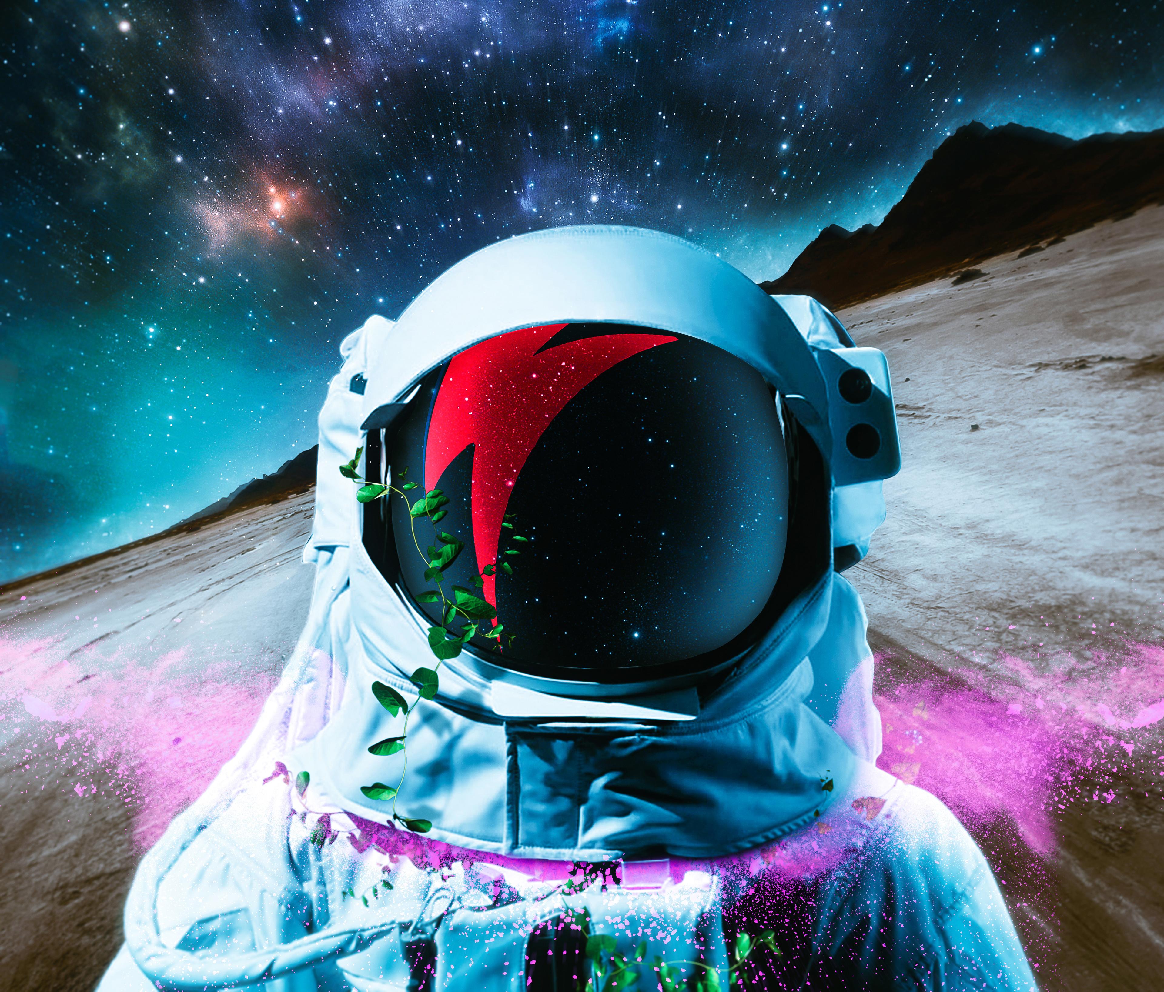 Astronaut, HD, 4K, Space