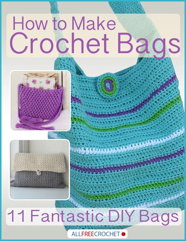Bolso de Crochet Puntadas Puff