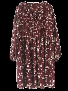 dresslily vintage cvjetna haljina