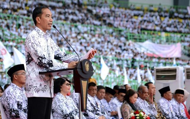 Ungkit Piagam Trilayak Ki Hajar Dewantoro, PB PGRI Tagih Janji Jokowi Soal Guru Honorer