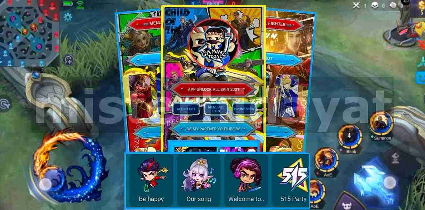 Apk Gaming Tegal Terbaru V124 Unlock All Skin Mobile Legends No Password