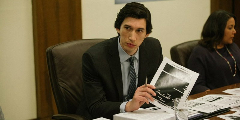 the report adam driver