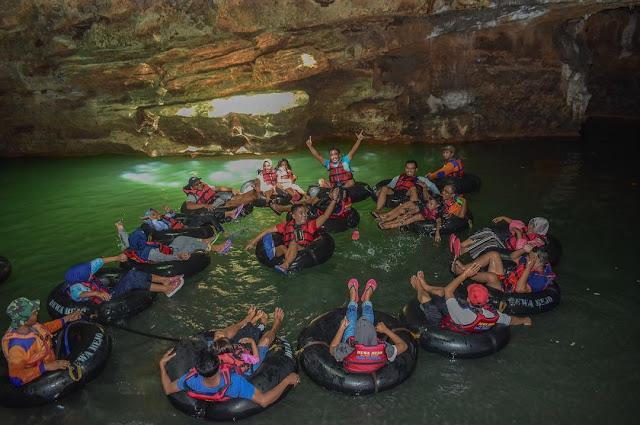 Paket wisata Cave Tubing Goa Pindul