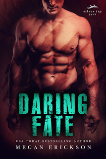 romance novel covers, MM Romance, Paranormal Romance, Daring Fate by Megan Erickson