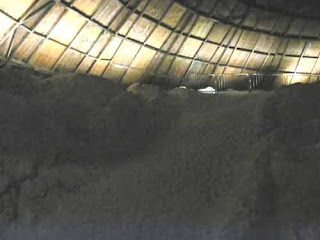Inside A City of Toronto Salt Storage Dome.