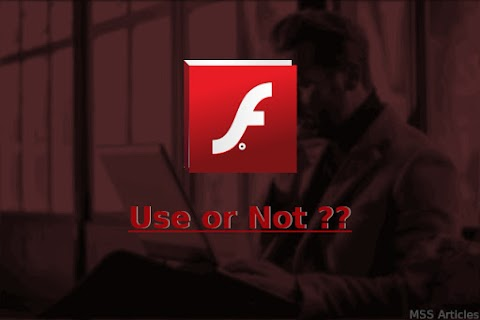Should We Stop Using Flash Player Right Now..?