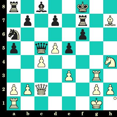 Les Blancs jouent et matent en 2 coups - Tanja Butschek vs Julia Krasnopeyeva, Allemagne, 2011