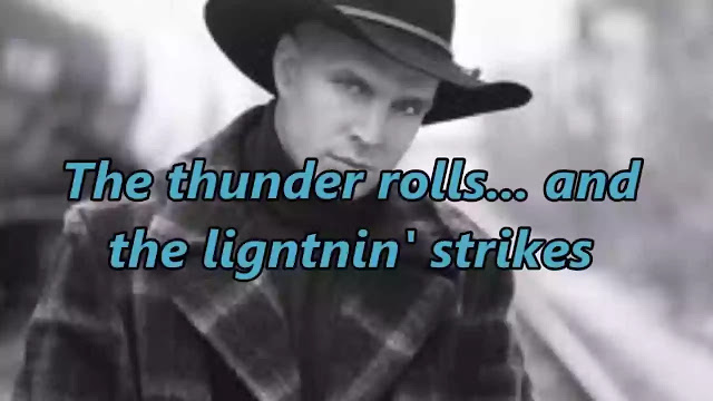 THE THUNDER ROLLS LYRICS — GARTH BROOKS | NewLyricsMedia.Com