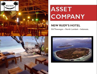 FOR SALE NEW RUDYS HOTEL, GILI TRAWANGAN - NORTH LOMBOK - INDONESIA