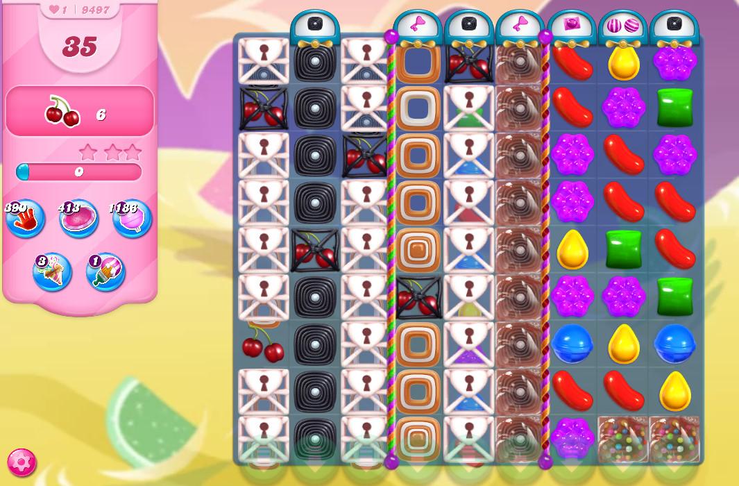 Candy Crush Saga level 9497