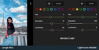 MIX - Cara Edit Langit Biru di Lightroom