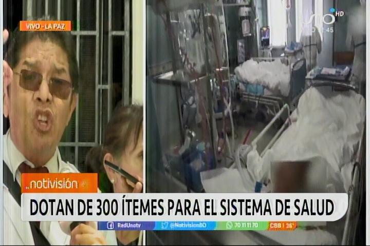 Médicos agradecen al Gobierno de Áñez por dotarles de 300 items tras 14 años de abandono del gobierno de Evo Morales