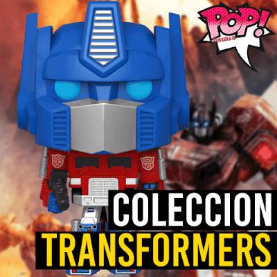 Lista de figuras Funko POP Transformers