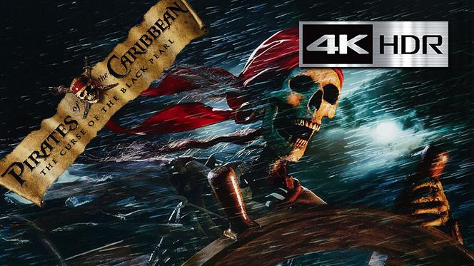 Piratas del Caribe – La maldición del Perla Negra (2003) WebRip 4K UHD [HDR] Latino-Castellano-Ingles