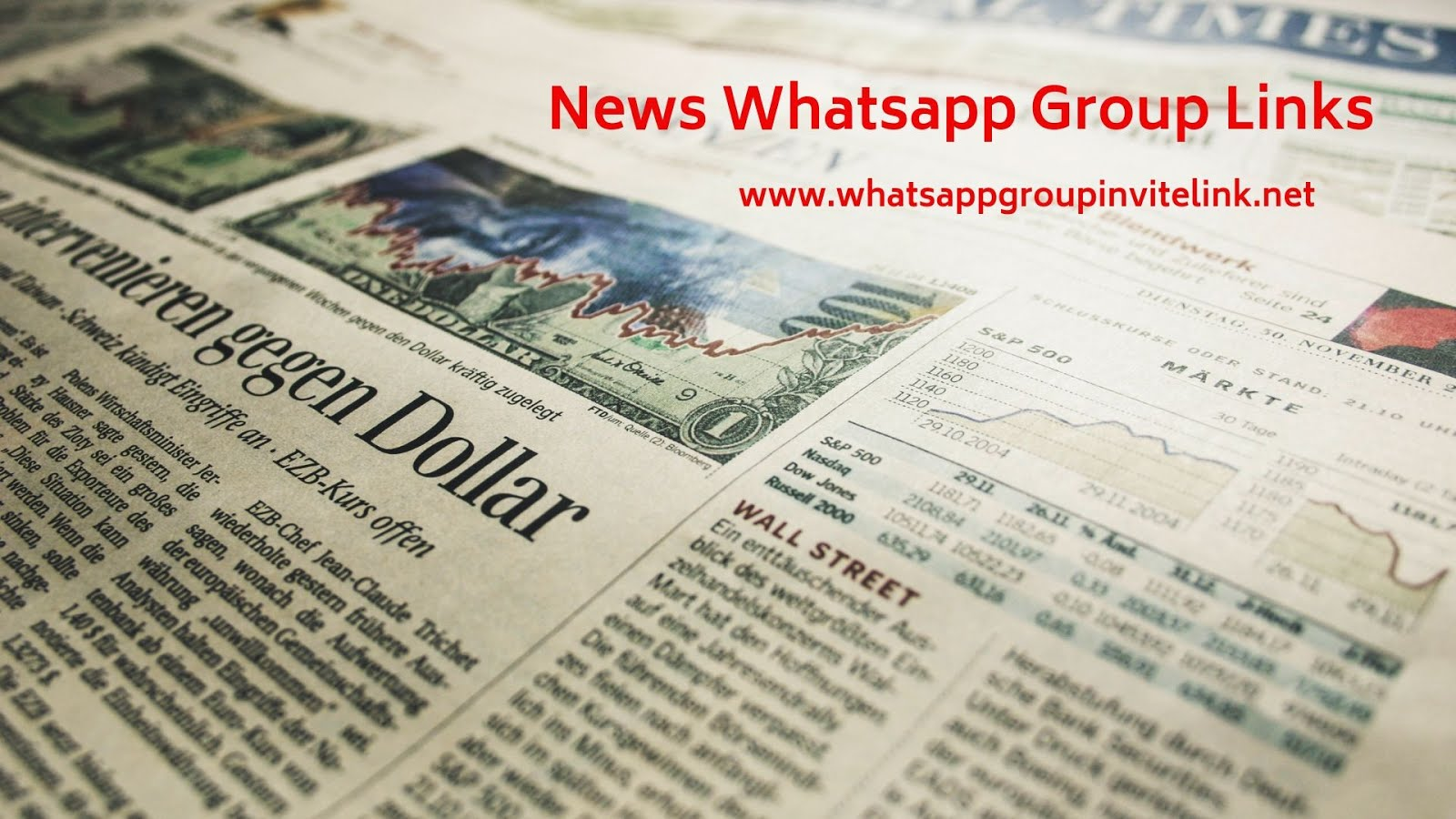 Whatsapp Group Invite Links: News Whatsapp Group Links