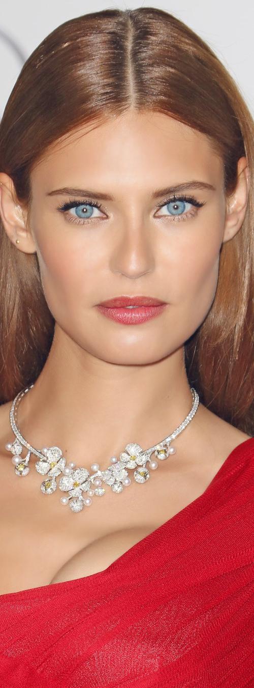 BIANCA BALTI on the Red Carpet amfARGala Cannes Film Festival 2014