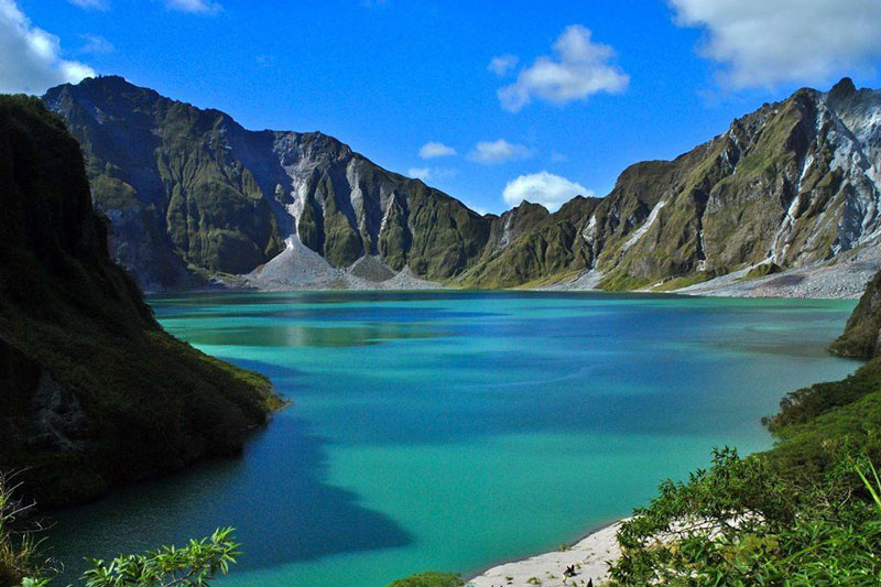 Mt. Pinatubo crater-lake