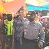 Unsur Tripika Kecamatan Pattallassang Bersinergi Sampaikan Imbauan Pakai Masker di Pasar Tradisional Pattallassang