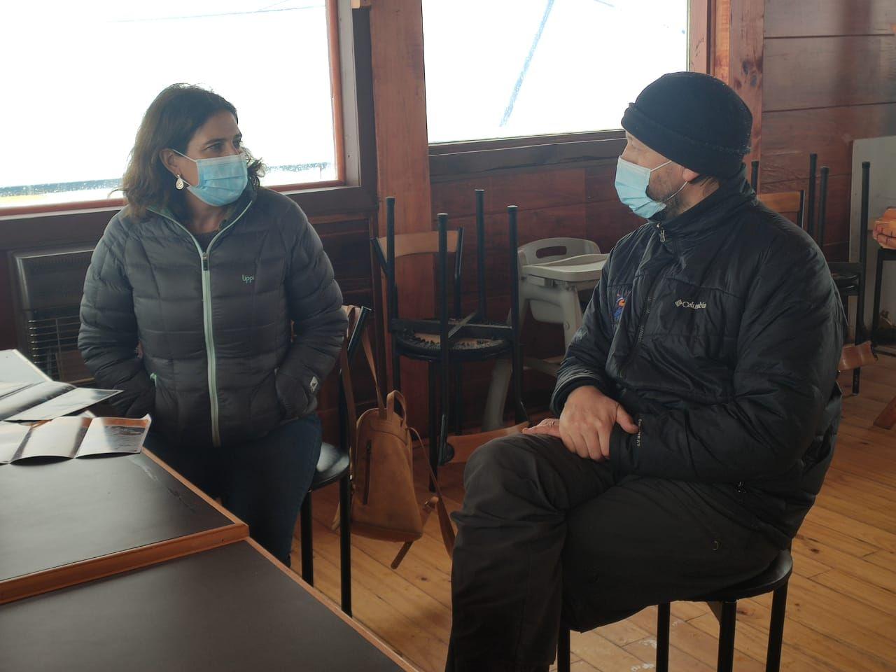 Inicio de temporada en Volcán Osorno con Directora Nacional de Sernatur