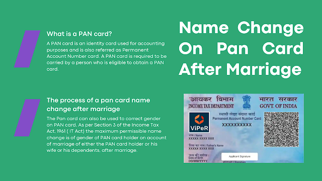 Name Change On Pan Card After Marriage: How to Update the PAN Card Online