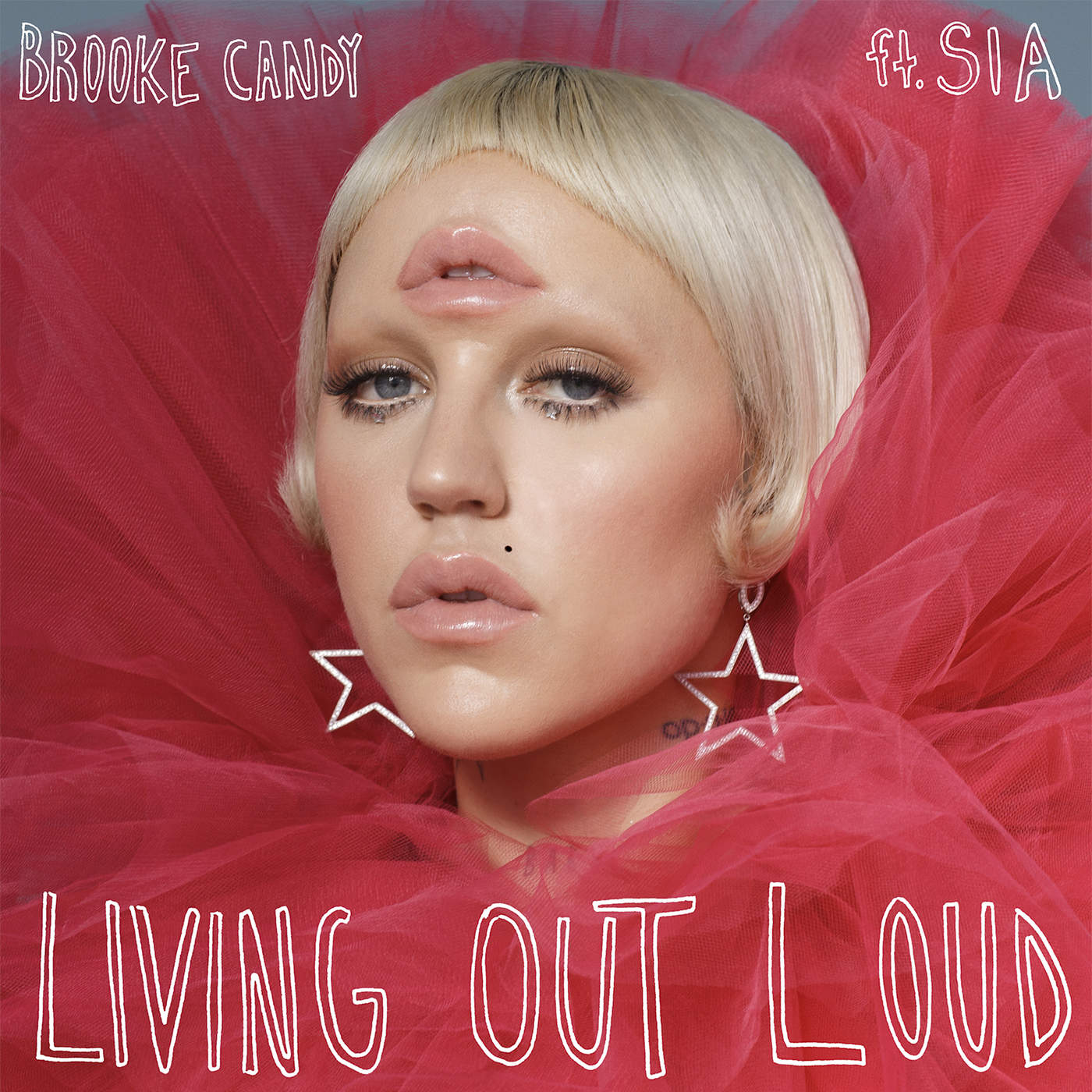 Brooke Candy - Living Out Loud (feat. Sia) - Single Cover