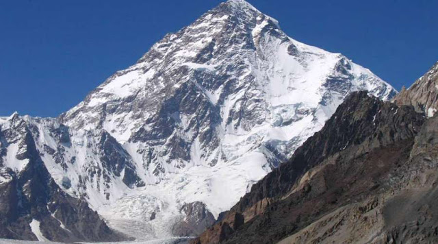 The second highest mountain in the world is 8,611 meters high, what is it called?