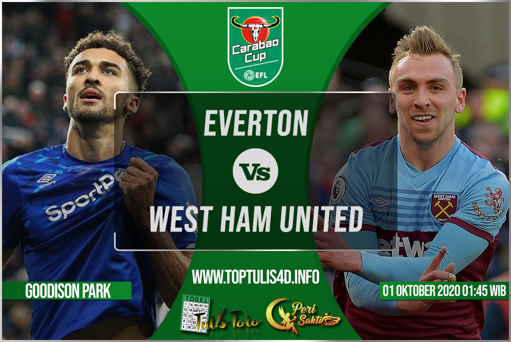 Prediksi Everton vs West Ham United 01 Oktober 2020