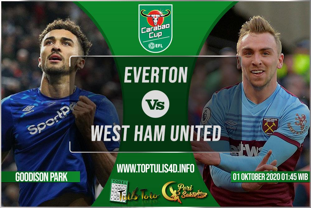 Prediksi Everton vs West Ham United 01 Oktober 2020